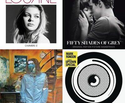 Mars 2015 : les titres les + écoutés