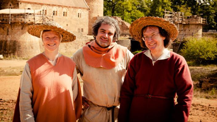 Image du programme Guédelon - les bâtisseurs de châteaux forts