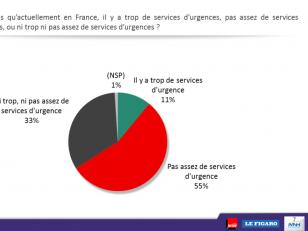 Pour une majorité de Français, il n'y a pas assez de services d'urgences en France.