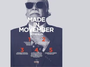 Movember : la moustache se fait une place au bureau