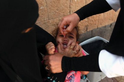 L'OMS déclare le risque de poliomyélite