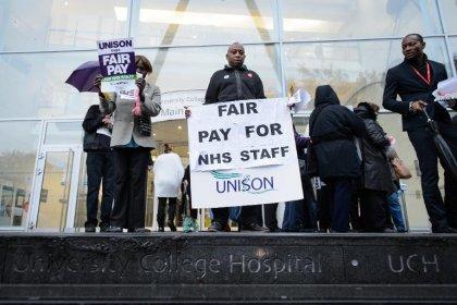 GB: le service public de santé en grève pour la 1re fois en 32 ans