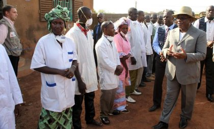 Ebola: le Mali