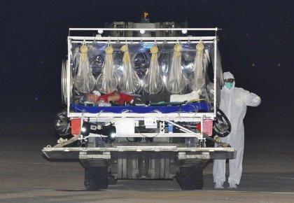 Ebola: légère amélioration pour le médecin italien contaminé