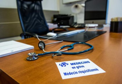 Les médecins généralistes appelés à fermer leur cabinet le 5 février