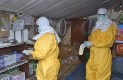 Ebola: résultats