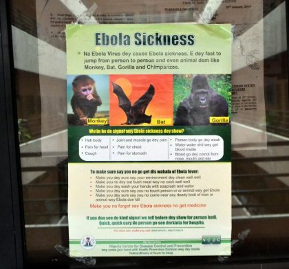 Ebola: un Roumain de retour du Nigeria placé en quarantaine à Bucarest