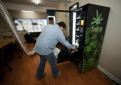 A Vancouver, le cannabis s'achète au distributeur