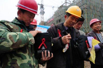 Chine: 104.000 nouveaux cas de VIH/sida recensés en 2014