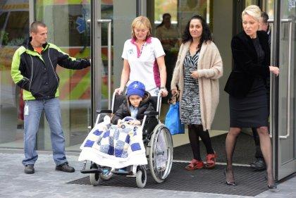 Royaume-Uni: le petit Ashya King n'a plus de cellules cancéreuses