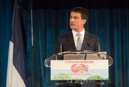 Manuel Valls annonce une