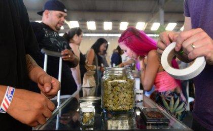 A Los Angeles, un marché dédié au cannabis... bio bien sûr