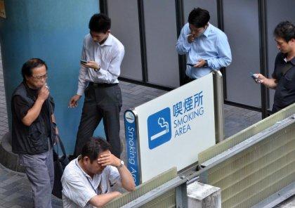 Les adultes japonais fument de moins en moins, en dessous de 20% de la population