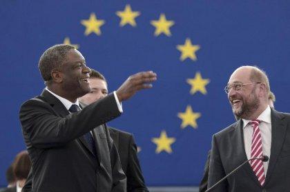 Le médecin congolais Denis Mukwege reçoit le prix Sakharov et appelle à