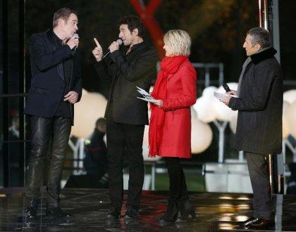C'est parti pour le 28e Téléthon, lancé face à la Tour Eiffel
