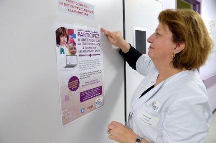Au CHU de Limoges, une expérience pionnière sur la télésurveillance médicale des seniors