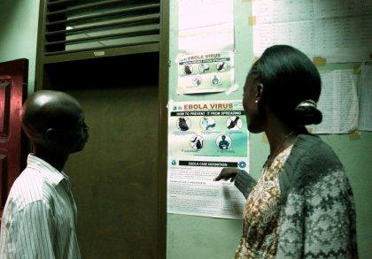 Ebola: en Afrique de l'Ouest, l'OMS appelle à la mobilisation internationale
