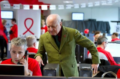 Sidaction: 5 millions d'euros de promesses de dons, stable par rapport à 2013