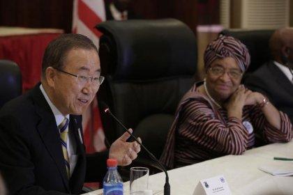 Ebola: en tournée en Afrique, Ban ki-moon promet le soutien de l'ONU