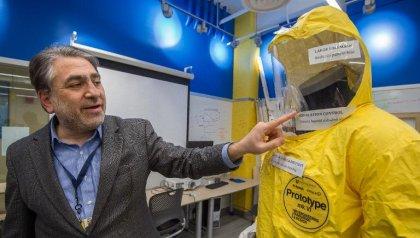 Etats-Unis: à l'essai, une nouvelle combinaison anti-Ebola offre plus de sécurité