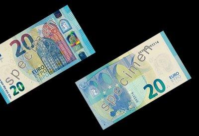 Le nouveau billet de 20 euros arrive demain