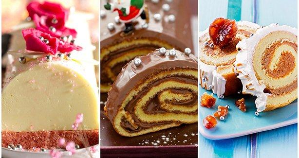 3 délicieuses recettes de Bûches de Noël