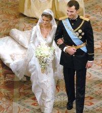 Les plus belles robes de mariée des princesses