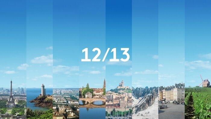 F3, 12/13 : Journal régional, 12h00 - 12h18, Info-Météo, Accéder à la TV en direct