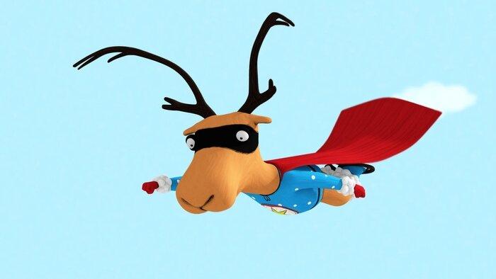 Jean-Michel, super caribou