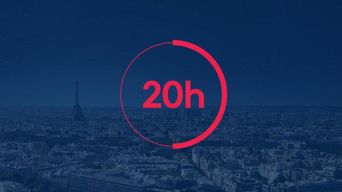 FRANCE 2, Journal 20h00, 20h00 - 20h35, Info-Météo, Accéder à la TV en direct