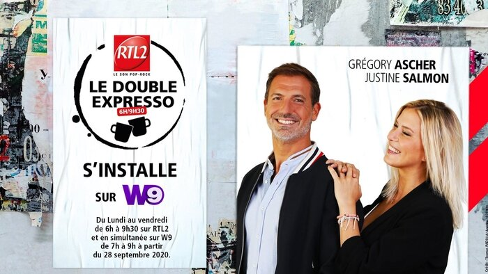 W9, Le double expresso RTL2, 7h00 - 9h00, Divertissement, Accéder à la TV en direct