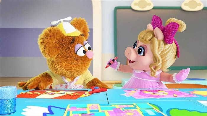 Les Muppet Babies : montre et raconte