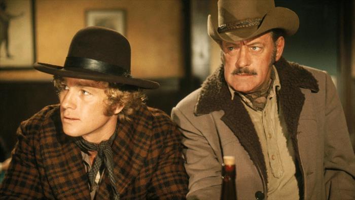 Deux hommes dans l'Ouest