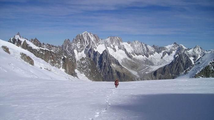Les Alpes - Les Grandes Jorasses