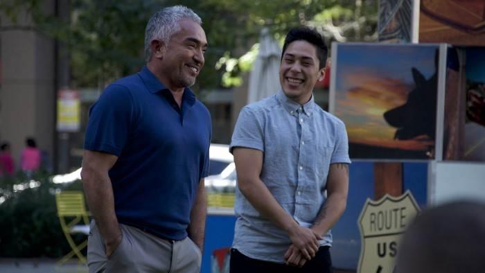 Cesar et son fils