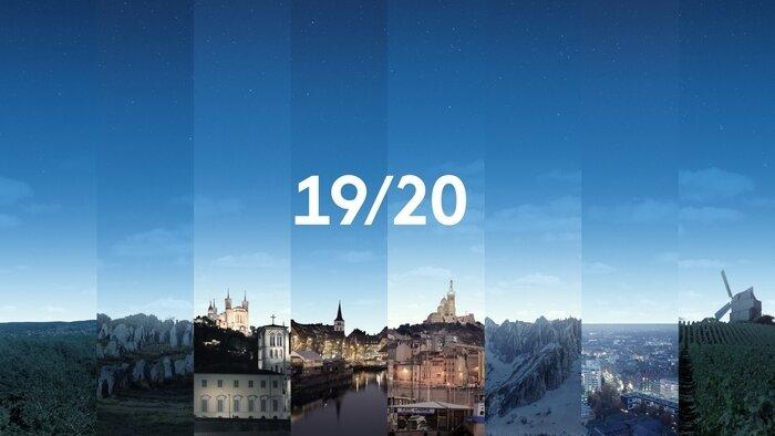 FRANCE 3, 19/20 : Journal national, 19h30 - 19h55, Info-Météo, Accéder à la TV en direct