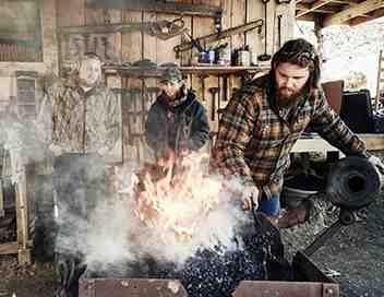 D'acier et de feu : la forge de Daniel