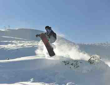 Snowboard en Grèce