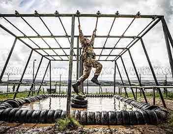 L'école des Royal Marines Commando