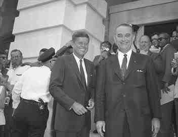 JFK & LBJ, l'Amérique en marche