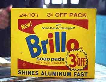 La Brillo Box, Warhol & moi