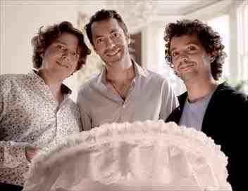 Trois hommes et un couffin