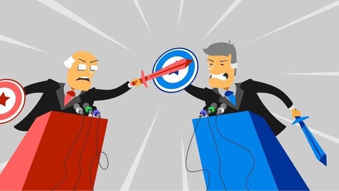 Le grand débat du web
