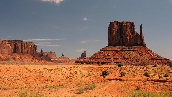 Les grands espaces de l'Ouest américain