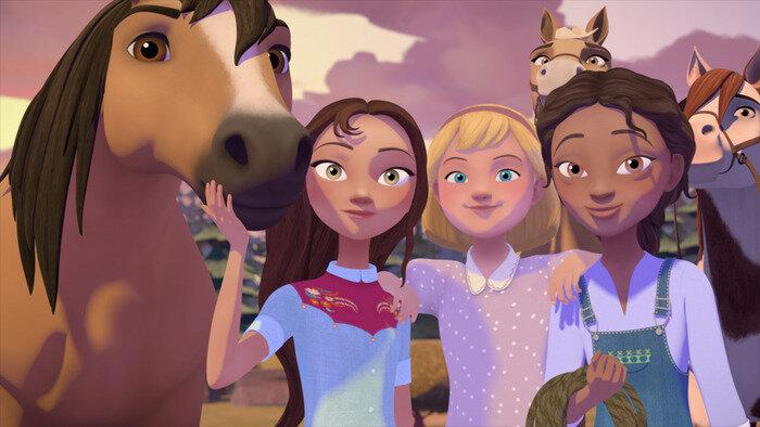 Spirit: Au galop en toute liberté - A l'école d'équitation