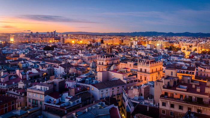 Valencia, ville lumière