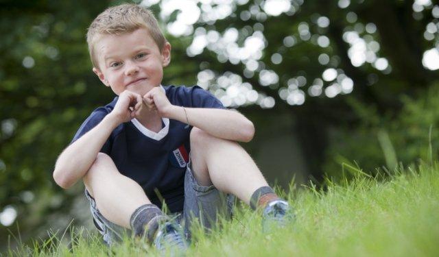 Pour Léo, 12 ans, participer à un essai, c'est une première étape pour vaincre la maladie !