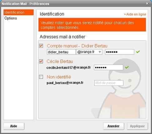 logiciel messagerie orange