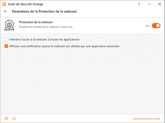 suite de sécurité orange 9.12 (c)