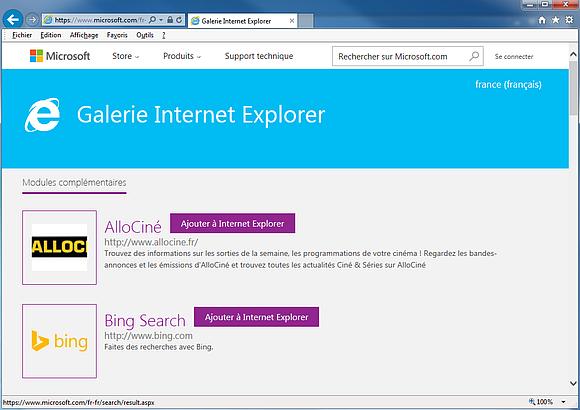 Internet Explorer 11 - logiciel pour ordinateur